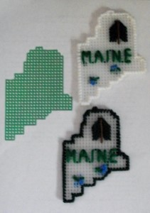 State of Maine Ornament Project